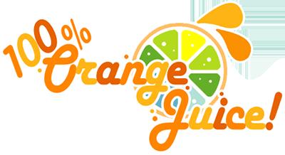 the gallery for  gt  orange fruit logos Orange Juice Brands orange juice logo vector